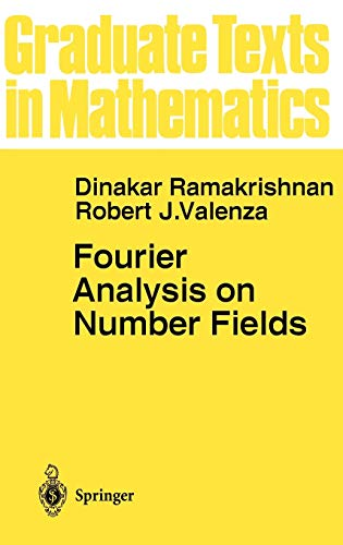Fourier Analysis on Number Fields (Graduate Texts in Mathematics, 186)の詳細を見る