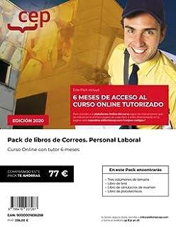 Personal Laboral Correos Pack De Libros + Curso Online 6 Meses