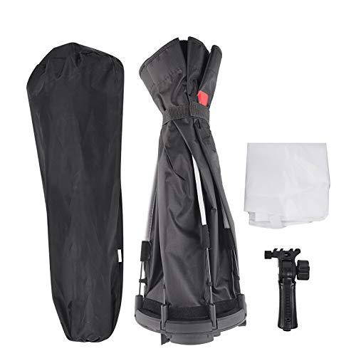 FOLOSAFENAR con 1 Pieza de paño Suave Flash Umbrella Soft Box con 1 Softbox Kit de iluminación fotográfica, para Varios Flashes, para luz Superior