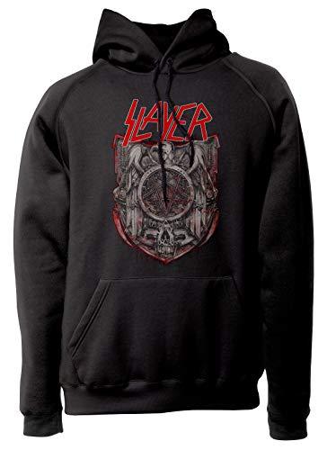 LaMAGLIERIA Sudadera Unisex Slayer S01 - Sudadera con Capucha Heavy Metal Rock...