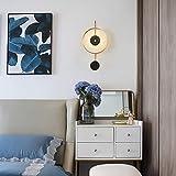 BXU-BG Hotel Marmo Lampada Da Parete Sfondo Corridoio Soggiorno Comodino Studio Decorazione Marmo Lampada Da Parete Scopri La Luce Luminosa Lampada