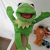 C-Y 60 cm Frog Puppet Muñeca de Peluche de Peluche Juguete niños Regalo de cumpleaños C-Y (Color : 30cm)