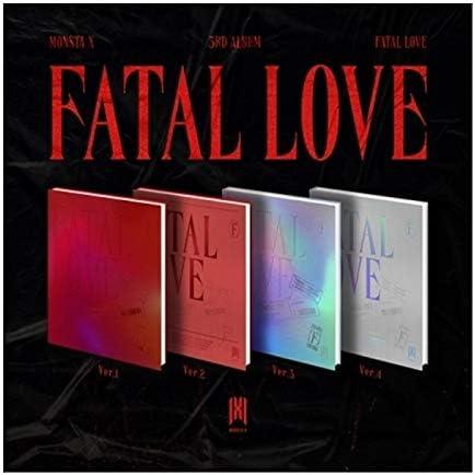 MONSTA X Fatal Love 3rd Boston Mall CD+120p Album Sti PhotoBook+1p Max 82% OFF Version.1