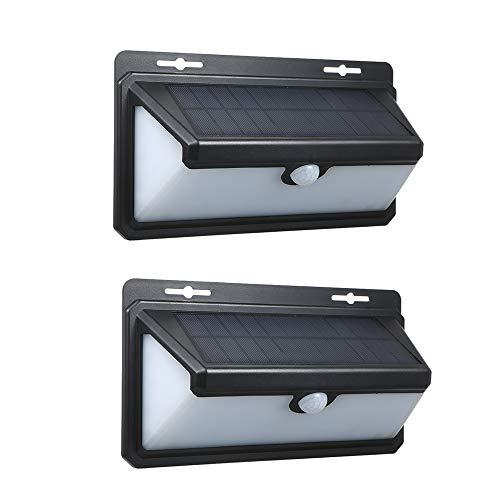 Lixada 158LEDs Solar Wandlamp Outdoor Garden Flame-Lamp Motion Sensor