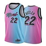 CLKI Jimmy Butler, Herro and Adebayo Jerseys, Miami Heat 2021 New Season - Camiseta de baloncesto para hombre, talla 22-M