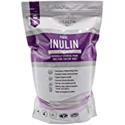 High Grade Pure Inulin Powder - Premium Prebiotic Fiber Supplement | Sourced from Chicory Root - A Soluble Dietary Digestive Aid Perfect for All Liquids | 1 Kg (Fructo- Oligosaccharide FOS)