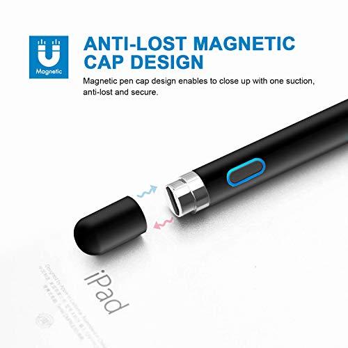 Stylus Stift Aktiver Pen Wiederaufladbarer Eingabestift Pencil Active Stylus Stift Pencil kompatibel für Apple ipad iPhone Android Phones Samsung Huawei Tablets