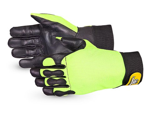 Endura Hi-Viz Cut-Resistant Chainsaw Gloves- 385CS/M