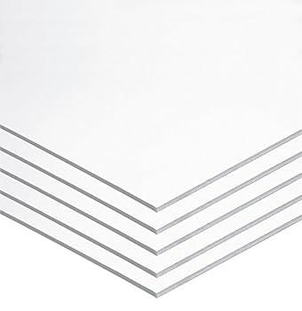 UCREATE Foam Board White 22  x 28  5 Sheets  P5557