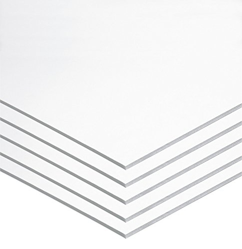 "UCREATE Foam Board, White, 22"" x 28"", 5 Sheets (P5557)"