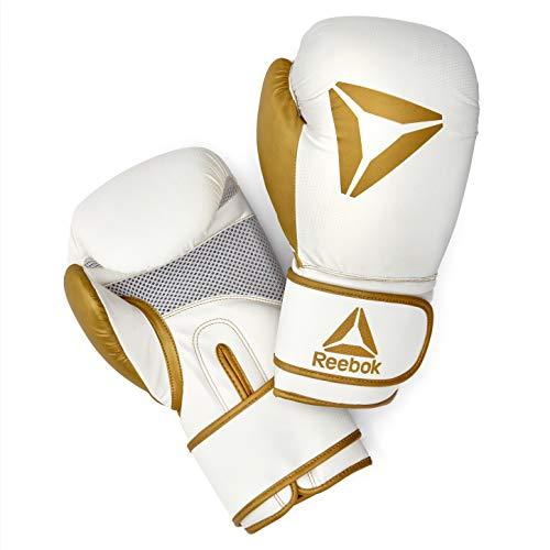 Reebok Boxhandschuhe, Gold/Weiß, 12oz