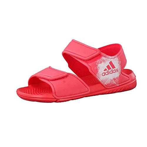 adidas Unisex-Kinder Altaswim C Hallenschuhe, Rosa (Core Pink/Footwear White Corpnk/Ftwwht), 29 EU