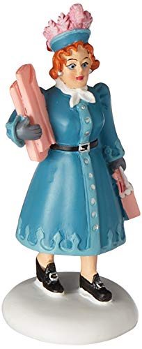 Department 56 Christmas Story Aunt Clara Figurine Village Accessory, Multicolor