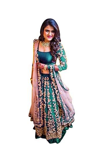 Skyview Fashion Damen Ethinc Festliche Kleidung Indisch Pakistani Lengha Hochzeit Party Bollywood...