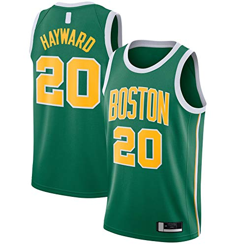 Popular Celebrity Jerseys JerseyEmbroidery Jersey Verde Equipo Uniforme #20 Hombres #Name? 2018/19 Swingman Baloncesto Edición ganada