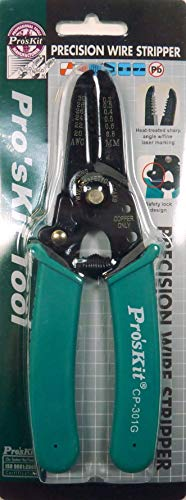 Eclipse Tools CP-301G Pro'sKit Precision Wire Stripper, 30-20 AWG