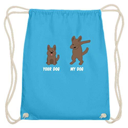 Jouw hond - Mijn hond/Your Dog - My Dog - Coole hond Dabbing Design dierenliefde motief - Katoen Gymsac