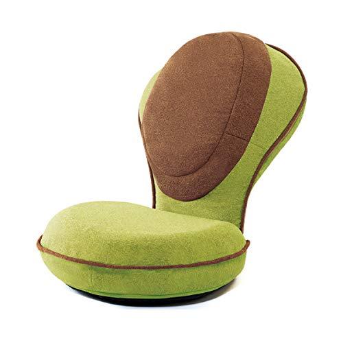 PROIDEA プロイデア 背筋がGUUUN 美姿勢座椅子リッチ【ピスタチオグリーン】