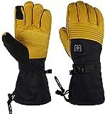 Guantes Calefactores Calentar los guantes de los guantes con calefacción for los guantes Hombres Mujeres eléctrico de esquí de la motocicleta de nieve manopla artritis 7.4V 2200mAh Con 3 niveles de te