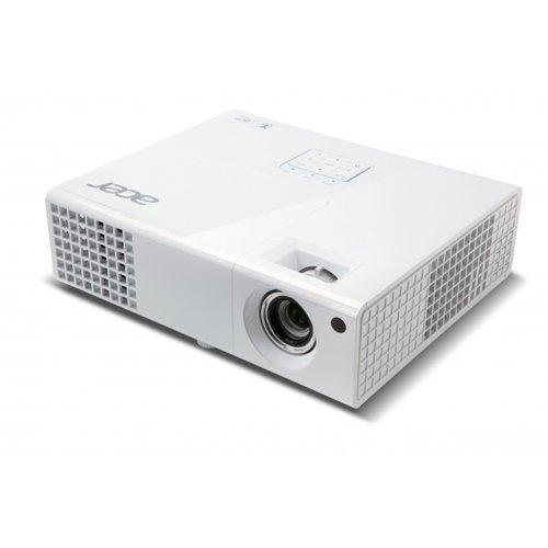 Acer P1173 3D SVGA DLP-Projektor (direkt 3D-fähig über HDMI 1.4a, 3.000 ANSI Lumen, 800 x 600 Pixel, MHL) weiß
