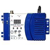 Tout nouveau Modulateur RF, Modulateur RF Compact Audio Vidéo TV Convertisseur VHF Uhf Pal/Ntsc Standard Portable Modulateur