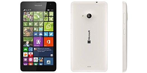 "Microsoft Lumia 535 - Smartphone Telcel Libero (schermo da 5 "", fotocamera da 5 MP, 8 GB, 1,2 GHz, 1 GB di RAM, Windows), Bianco"