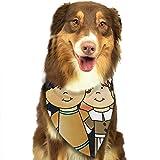 iuitt7rtree 1. Thanksgiving Clipart Mode Hund Bandana Haustier Zubehör Easy Wash Schal
