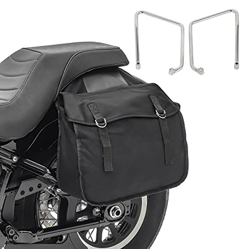 Bolsas Laterales con Soporte SH2 para Harley Sportster 883 Iron 09-20