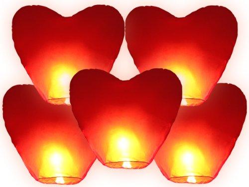 Lot de 5 Lanternes en papier blanc - Lanternes en papier glacé pour anniversaires, anniversaires, fêtes et événements