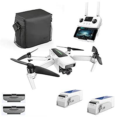 Hubsan Zino 2 Plus GPS FPV Foldable Drone 4K 60FPS Camera 3-axis Detachable gimbal 9KM 35 Minutes WIFI APP Control (Portable version+ND Filter)