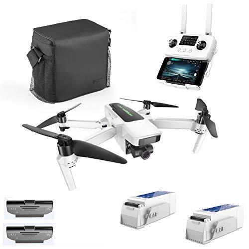 Hubsan Zino 2 Plus GPS FPV Faltbare Drohne 4K 60FPS Kamera 3-Achsen Abnehmbarer Kardanring 9KM 35 Minuten WiFi APP Control (tragbare Version)