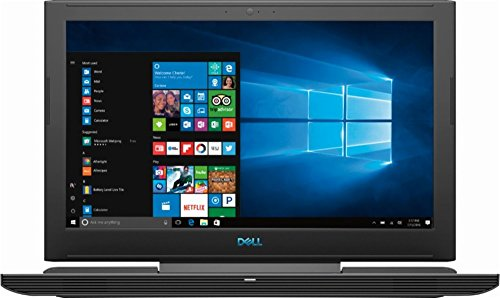 2018 Premium Flagship Dell G7 15.6 Inch FHD IPS Gaming Laptop (Intel Core i7-8750H 2.2 GHz up to 4.1 GHz, 16GB DDR4 RAM, 256GB SSD + 1TB HDD, WiFi, 6GB Nvidia GeForce GTX 1060 Max-Q, Windows 10)