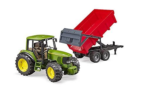 bruder-bruder-02057-tracteur John Deere 6920con remolque, 2057, verde , color/modelo surtido