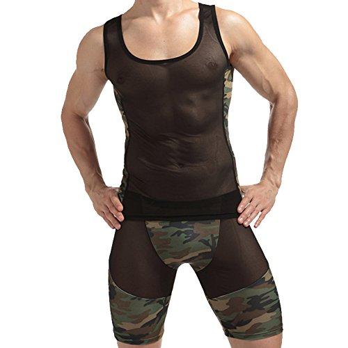 JJ Store -  T-Shirt - Uomo Camouflage XL
