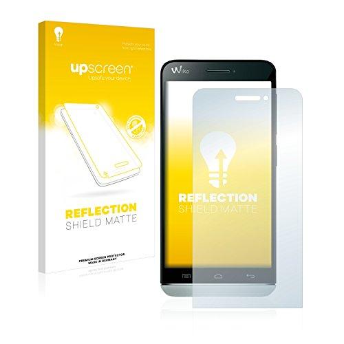 upscreen Entspiegelungs-Schutzfolie kompatibel mit Wiko Wax – Anti-Reflex Bildschirmschutz-Folie Matt