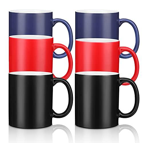 11 oz Color Changeable Sublimation Mug, Sublimation Blank Mug, Magic Personalized Mug Custom Heat...