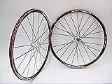 Vuelta XRP Pro SL 700c Road Bike Wheel Set Shimano Campagnolo Sealed Cartridge Bearings (700c, White HUBS)