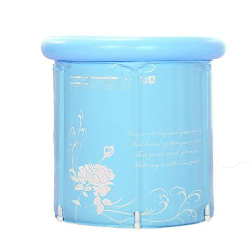 XUANLAN Ganzkörper-Folding Abnehmbare Haushalt Erwachsener Eindickung aufblasbare Badewanne Badebottich-75 * 75cm