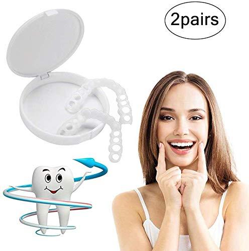 Kosmetische Zahn Silikon Furnier Prothese Top Bequeme Passform Sockel Macht weiße Zähne schön und ordentlich