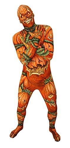 Morphsuit Adultos Jack O'Lantern Monstruo de Disfraces - Tamaño Grande -...