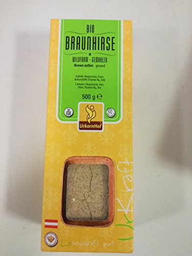 Urkornhof Bio BIO Braunhirse Wildform gemahlen (1 x 500 gr)