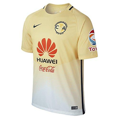 Nike CA M SS HM Stadium JSY - Kurzärmeln T-Shirt CF AmericaGelb - S - Herren