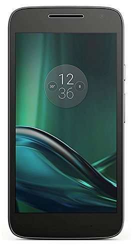 Motorola Moto G4 (16GB) XT1621 GSM Factory Unlocked 4G LTE Phone - 5.5' Screen (International Version - No Warranty) - Black