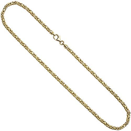 3,2mm Königskette Kette Collier aus 333 Massiv Gold Gelbgold 42cm Goldkette