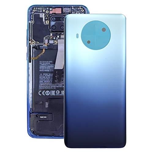 JLZK Robusto Funda de Juego de batería para Xiaomi Redmi Note 9 Pro 5G M2007J17C Durable (Color : Blue)