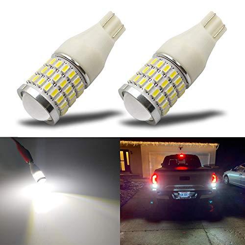 iBrightstar Newest 9-30V Super Bright Error Free T15 912 W16W 921 LED Bulbs with...