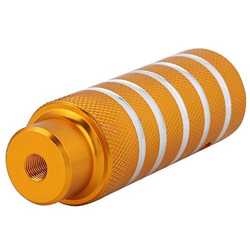 SANON Fahrrad Metall Schwere Fußständer Heringe Hintere Stunt Heringe Fußstütze Fahrradzubehör (Golden)