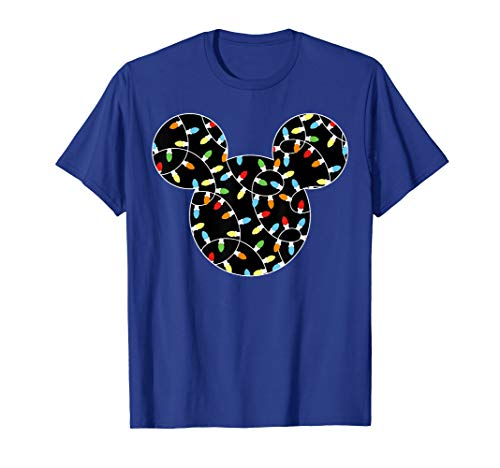 Disney Mickey Christmas Lights T-Shirt