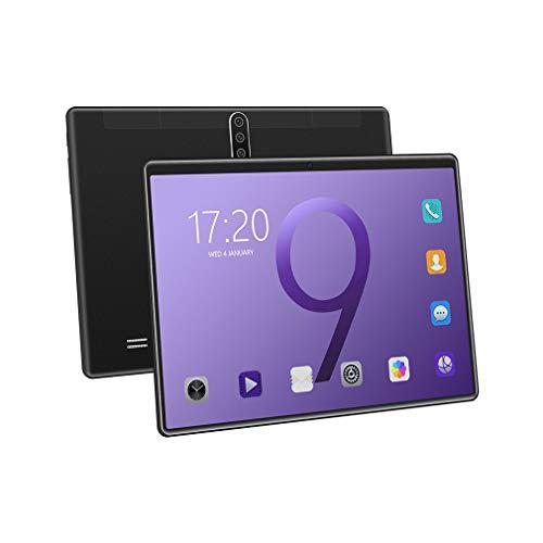 bansd X102 Tableta de 10 Pulgadas Sistema informático Llamada Pantalla HD Tableta WiFi Tableta Duradera Negro UE