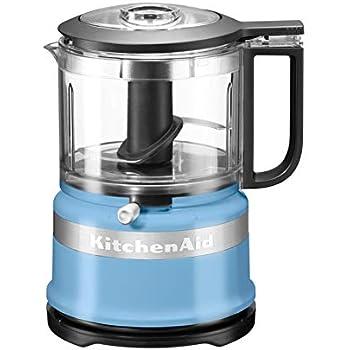 KitchenAid 5KFC3516 Robot de Cocina 830 L Azul 240 W 5KFC3516, 830 L, Azul, 3450 RPM, Picar, Mezcla, Puré, De plástico, Acero Inoxidable: Amazon.es: Hogar